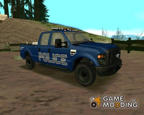 Ford F-250 Incident Response for GTA San Andreas