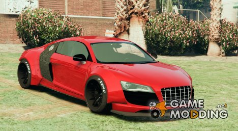 Audi R8 (LibertyWalk) for GTA 5