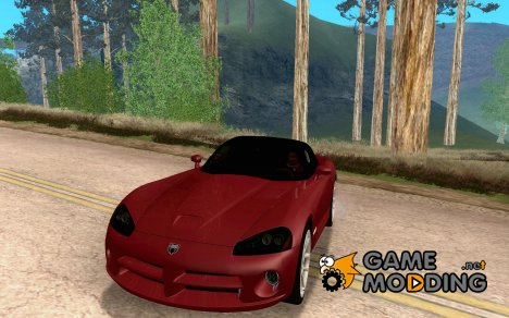 Dodge Viper SRT-10 Roadster для GTA San Andreas