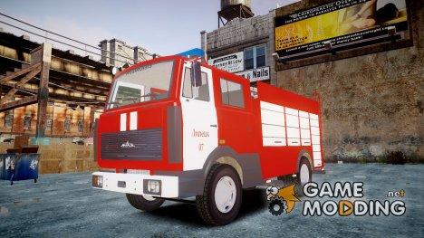 МАЗ 533702 Пожарный г. Липецк for GTA 4