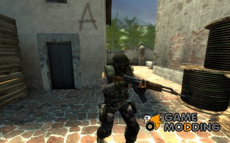 Reskin SAS Model for Counter-Strike Source