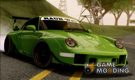 Porsche 993 GT2 RWB Rough Rhythm for GTA San Andreas