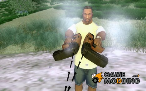 Manhunt Nailgun for GTA San Andreas