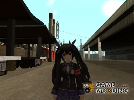Noire School Uniform Skin для GTA San Andreas