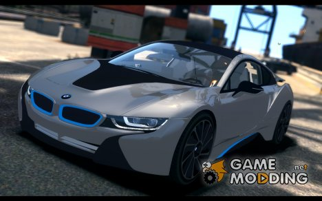 2013 BMW i8 for GTA 4