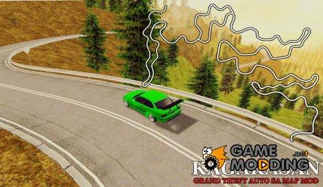 Kagarasan Track for GTA San Andreas