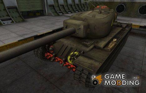 Контурные зоны пробития T34 for World of Tanks