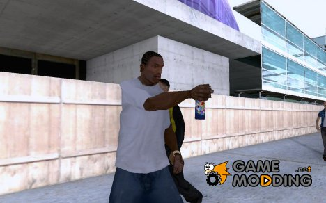 New spraycan - Aerosol Spray can для GTA San Andreas