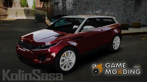 Range Rover Evoque for GTA 4