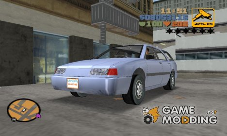 Stratum из GTA SA for GTA 3
