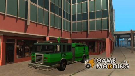 Paintable in the two of the colours of the Firetruck by Vexillum для GTA San Andreas
