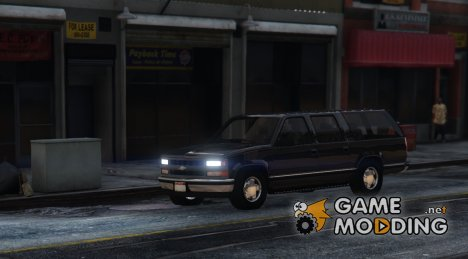Chevrolet Suburban GMT-400 for GTA 5