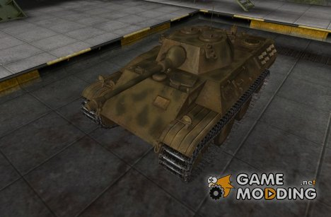 Шкурка для VK1602 Leopard for World of Tanks