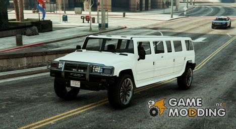 Patriot (Hummer)  Limo 0.5 for GTA 5
