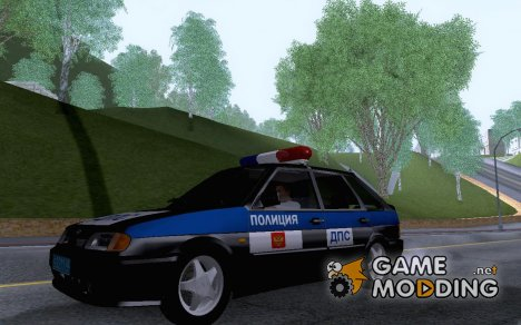 Ваз 2114 Полиция for GTA San Andreas