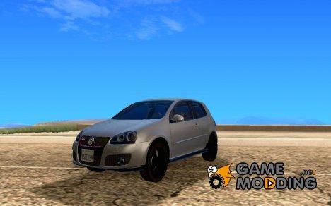Volkswagen Golf V R32 Black edition для GTA San Andreas