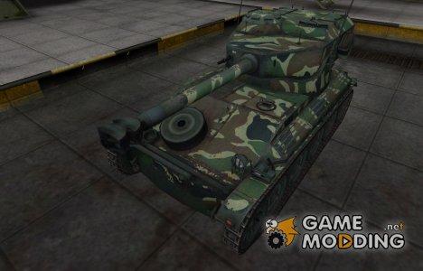 Скин с камуфляжем для AMX 12t for World of Tanks