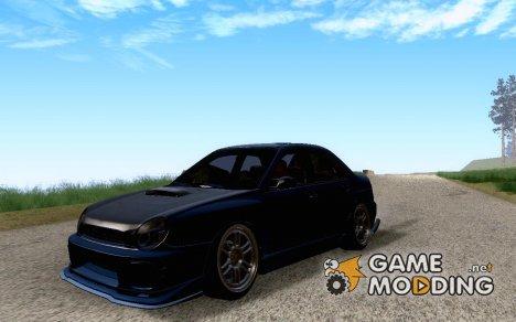 Subaru Impreza WRX Tuned for GTA San Andreas