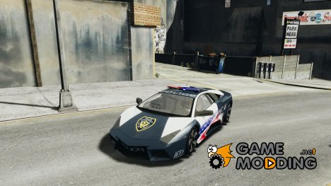 Lamborghini Reventon Police Stinger Version for GTA 4