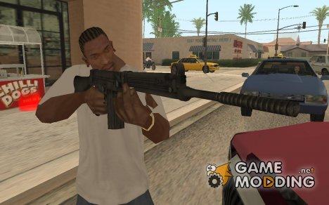 Штурмовая винтовка из Fallout 3 для GTA San Andreas