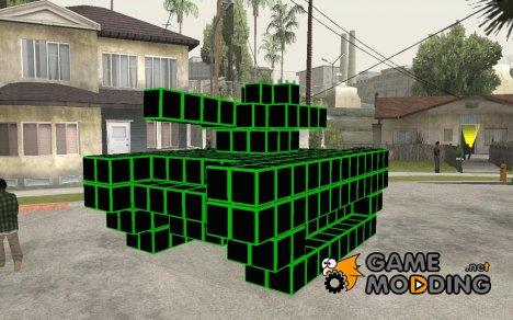 Pixel Tank for GTA San Andreas