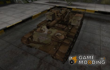 Шкурка для американского танка M41 for World of Tanks