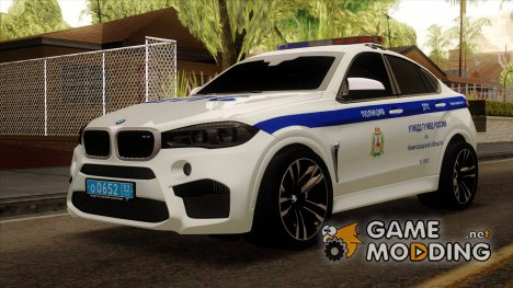 BMW X6M 2015 ДПС for GTA San Andreas