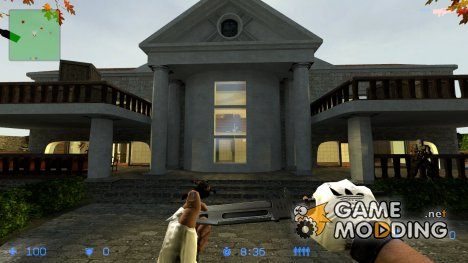 CS_FallMansion для Counter-Strike Source
