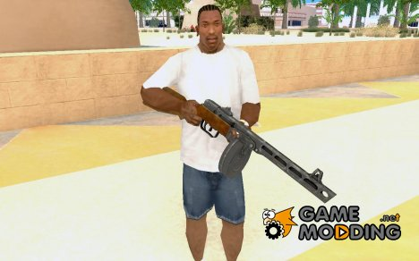 Avtorifle PPsh40 для GTA San Andreas