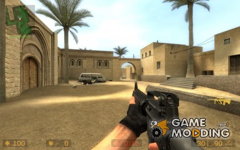 Majors M16-a4 hack for Counter-Strike Source