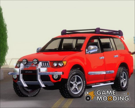 Mitsubishi Pajero Sport Dakar Offroad Version 2014 for GTA San Andreas