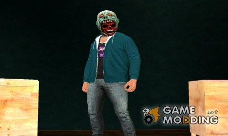 Skin Haloween v1 DLC Halloween GTA V for GTA San Andreas