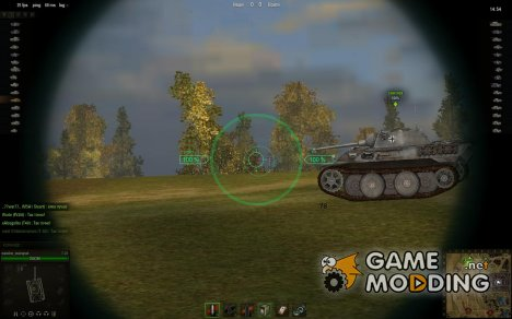 Снайперский прицел for World of Tanks