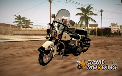 GTA V Police Bike для GTA San Andreas