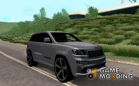 Jeep Grand Cherokee SRT8 2013 для GTA San Andreas