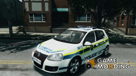 Volkswagen Golf 5 GTI South African Police Service for GTA 4
