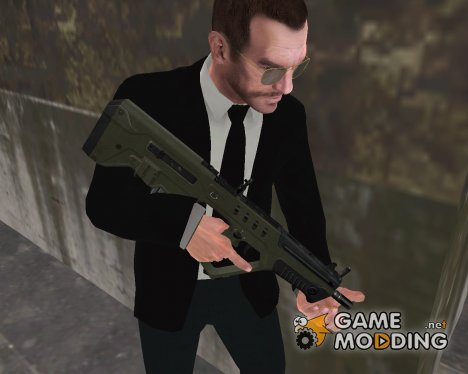 GTA V Weapon Series: Tavor TAR-21 для GTA 4