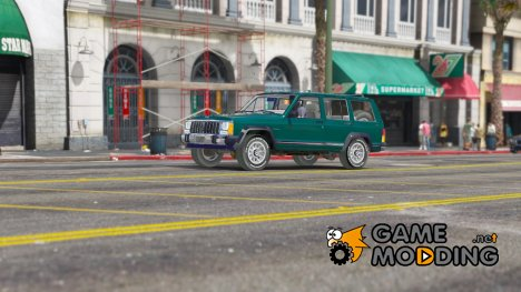 Jeep Cherokee XJ 1984 for GTA 5