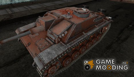 шкурка для StuG III от SlapnBadKids для World of Tanks
