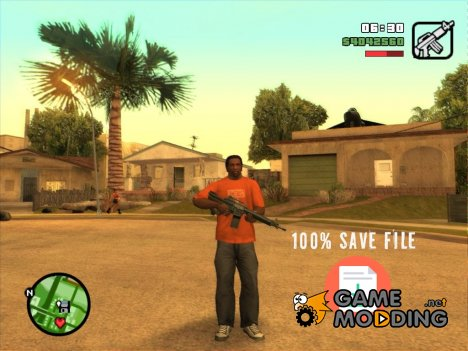 Psy's 100% Save File for GTA San Andreas