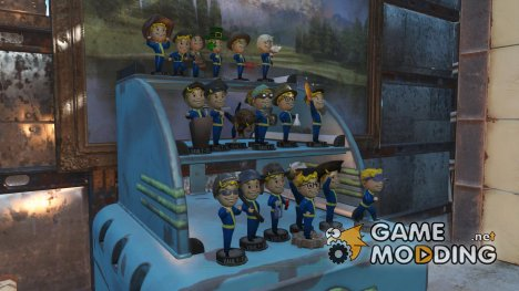 Головные уборы на Пупсах for Fallout 4