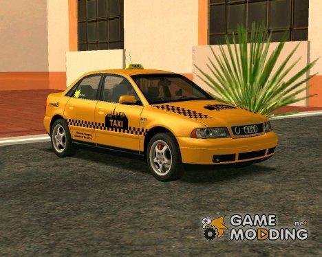 Audi A4 1.9 TDI Taxi для GTA San Andreas