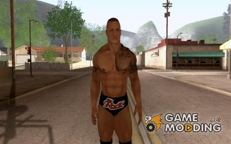"Dwayne ""The Rock"" Johnson Mod V1 для GTA San Andreas"