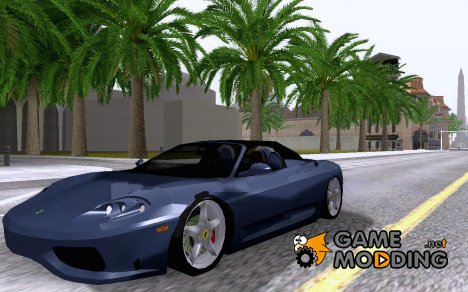 Ferrari 360 Spyder for GTA San Andreas