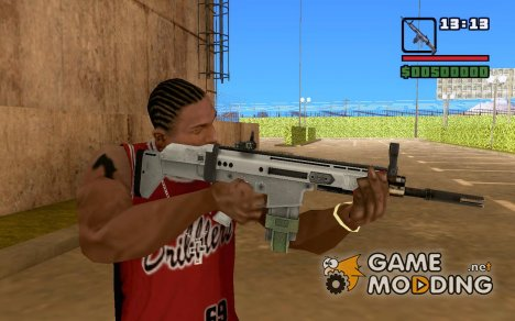 SCAR-H из Call of Duty Modern Warfare 2 for GTA San Andreas