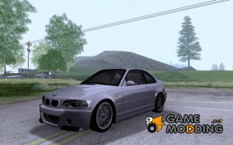 BMW E46 M3 CSL - Stock for GTA San Andreas