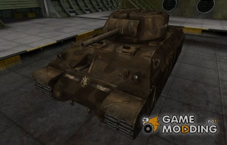 Скин в стиле C&C GDI для T14 для World of Tanks