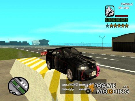 Гоночные машины для GTA San Andreas