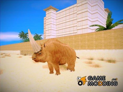 Elasmotherium for GTA San Andreas