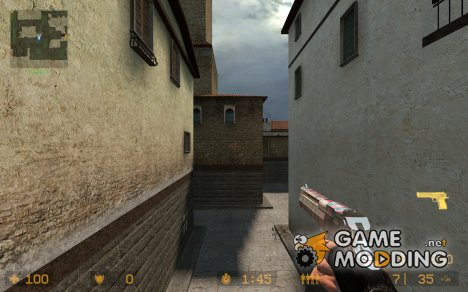 Tiger_Stripes Deagle для Counter-Strike Source